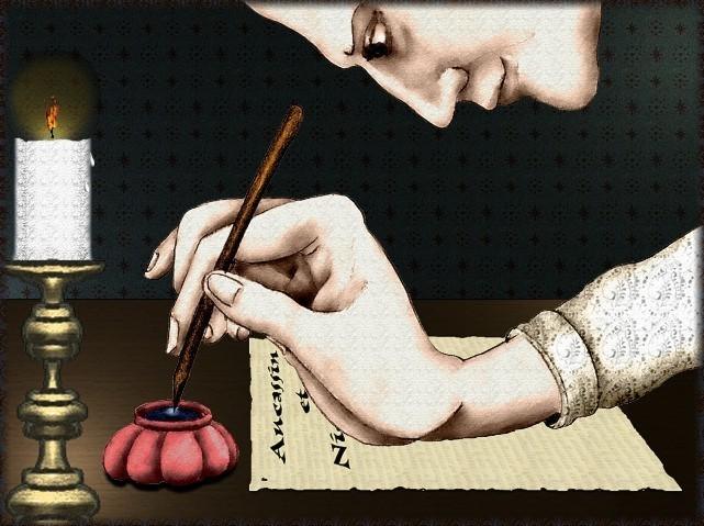 La chantefable Aucassin et Nicolette (XII ème et XIII ème siècle) (Illustré) Scene01
