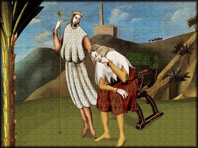 La chantefable Aucassin et Nicolette (XII ème et XIII ème siècle) (Illustré) Scene04b