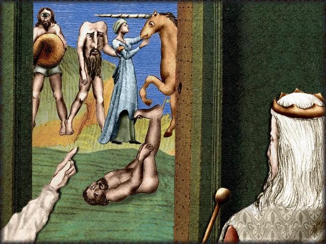 La chantefable Aucassin et Nicolette (XII ème et XIII ème siècle) (Illustré) Scene05e