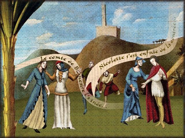La chantefable Aucassin et Nicolette (XII ème et XIII ème siècle) (Illustré) Scene07