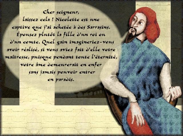 La chantefable Aucassin et Nicolette (XII ème et XIII ème siècle) (Illustré) Scene08c