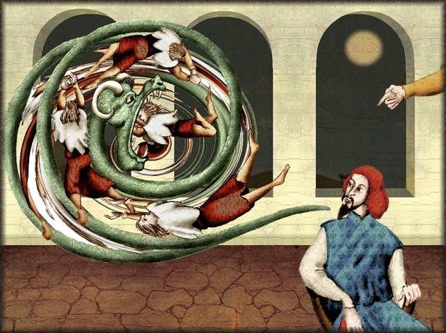 La chantefable Aucassin et Nicolette (XII ème et XIII ème siècle) (Illustré) Scene08d