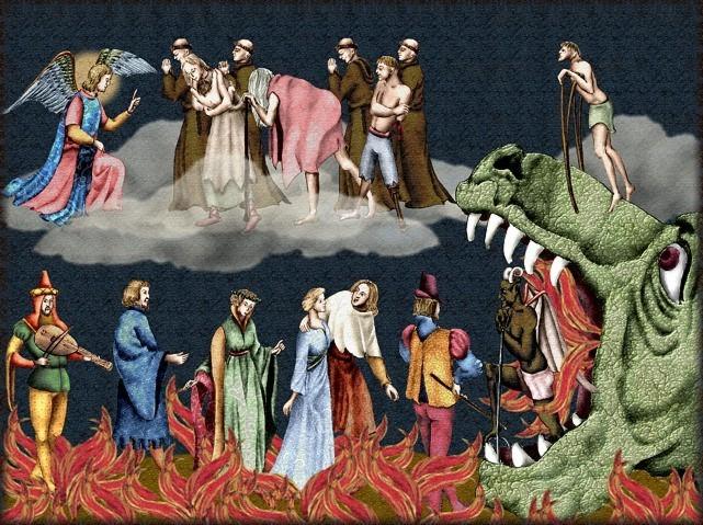 La chantefable Aucassin et Nicolette (XII ème et XIII ème siècle) (Illustré) Scene08e