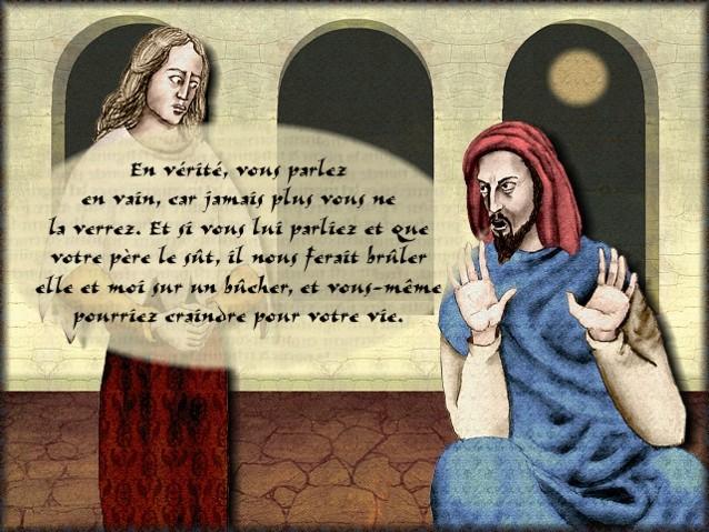 La chantefable Aucassin et Nicolette (XII ème et XIII ème siècle) (Illustré) Scene08f