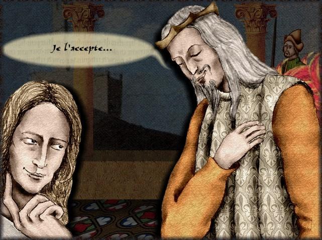 La chantefable Aucassin et Nicolette (XII ème et XIII ème siècle) (Illustré) Scene09e