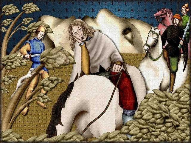 La chantefable Aucassin et Nicolette (XII ème et XIII ème siècle) (Illustré) Scene10b