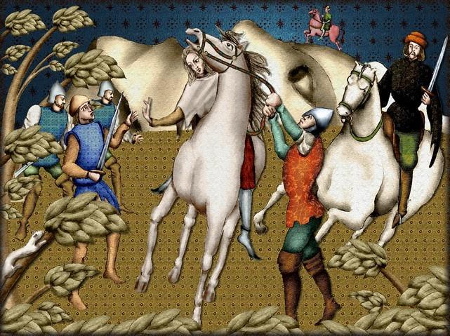 La chantefable Aucassin et Nicolette (XII ème et XIII ème siècle) (Illustré) Scene10c