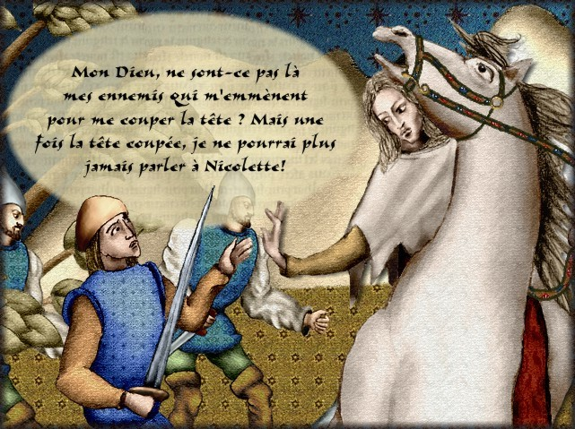La chantefable Aucassin et Nicolette (XII ème et XIII ème siècle) (Illustré) Scene10d