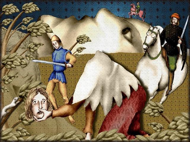 La chantefable Aucassin et Nicolette (XII ème et XIII ème siècle) (Illustré) Scene10e