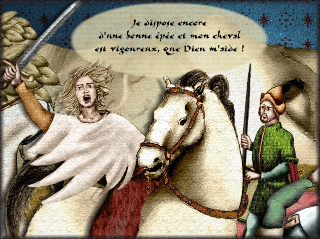 La chantefable Aucassin et Nicolette (XII ème et XIII ème siècle) (Illustré) Scene10f