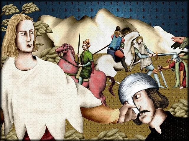 La chantefable Aucassin et Nicolette (XII ème et XIII ème siècle) (Illustré) Scene11
