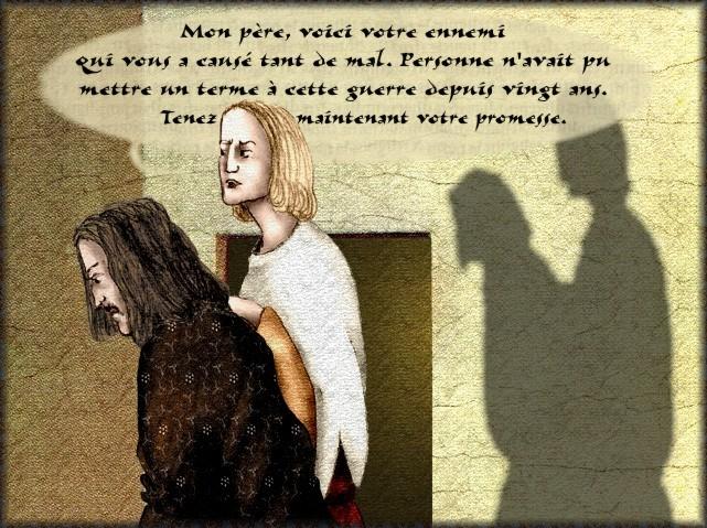 La chantefable Aucassin et Nicolette (XII ème et XIII ème siècle) (Illustré) Scene12a