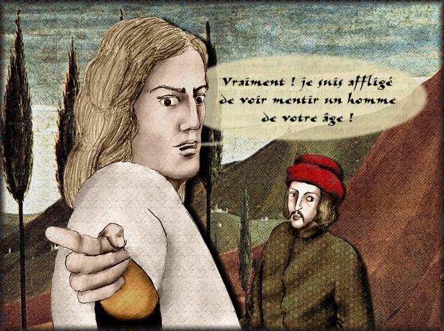 La chantefable Aucassin et Nicolette (XII ème et XIII ème siècle) (Illustré) Scene12c