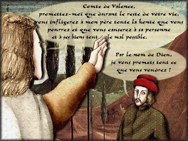 La chantefable Aucassin et Nicolette (XII ème et XIII ème siècle) (Illustré) Scene12d