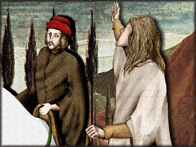 La chantefable Aucassin et Nicolette (XII ème et XIII ème siècle) (Illustré) Scene12e