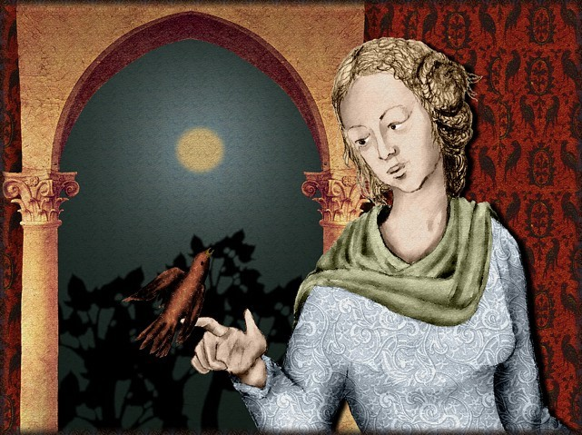 La chantefable Aucassin et Nicolette (XII ème et XIII ème siècle) (Illustré) Scene13c