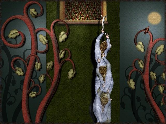 La chantefable Aucassin et Nicolette (XII ème et XIII ème siècle) (Illustré) Scene14a