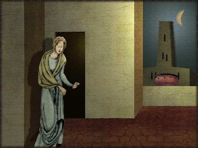 La chantefable Aucassin et Nicolette (XII ème et XIII ème siècle) (Illustré) Scene14c