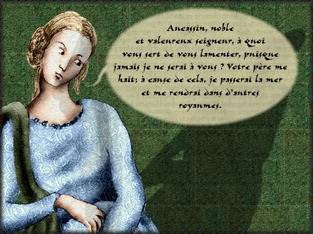 La chantefable Aucassin et Nicolette (XII ème et XIII ème siècle) (Illustré) Scene15b