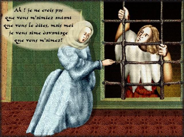 La chantefable Aucassin et Nicolette (XII ème et XIII ème siècle) (Illustré) Scene15d