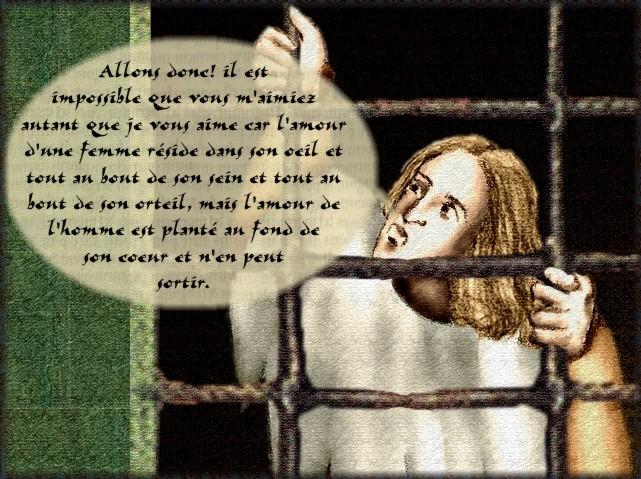 La chantefable Aucassin et Nicolette (XII ème et XIII ème siècle) (Illustré) Scene15e
