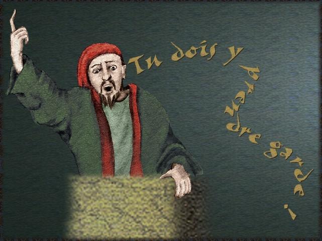 La chantefable Aucassin et Nicolette (XII ème et XIII ème siècle) (Illustré) Scene16e