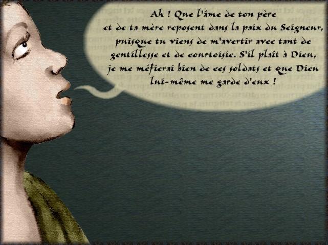 La chantefable Aucassin et Nicolette (XII ème et XIII ème siècle) (Illustré) Scene16g