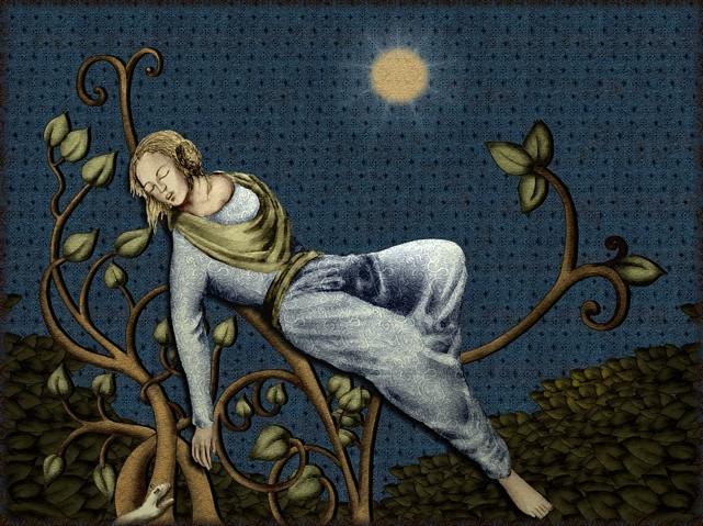 La chantefable Aucassin et Nicolette (XII ème et XIII ème siècle) (Illustré) Scene17c