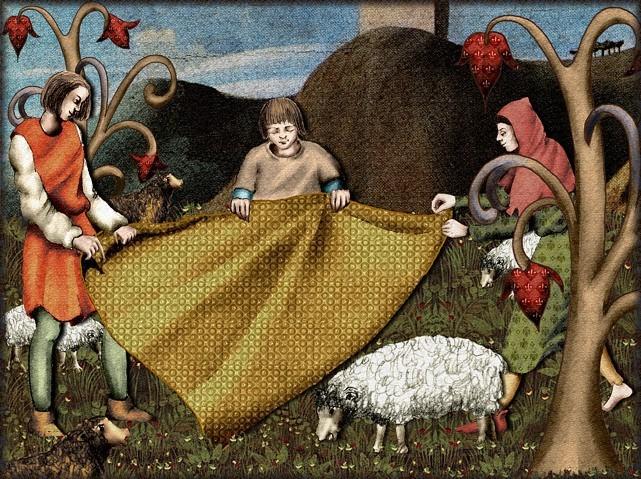 La chantefable Aucassin et Nicolette (XII ème et XIII ème siècle) (Illustré) Scene18a