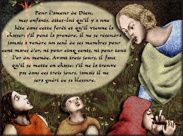 La chantefable Aucassin et Nicolette (XII ème et XIII ème siècle) (Illustré) Scene18d
