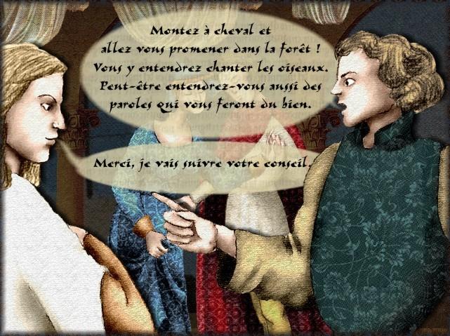La chantefable Aucassin et Nicolette (XII ème et XIII ème siècle) (Illustré) Scene21c