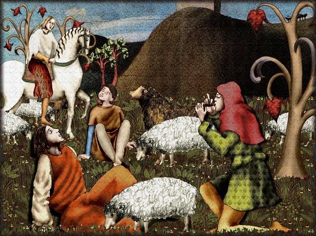 La chantefable Aucassin et Nicolette (XII ème et XIII ème siècle) (Illustré) Scene22a