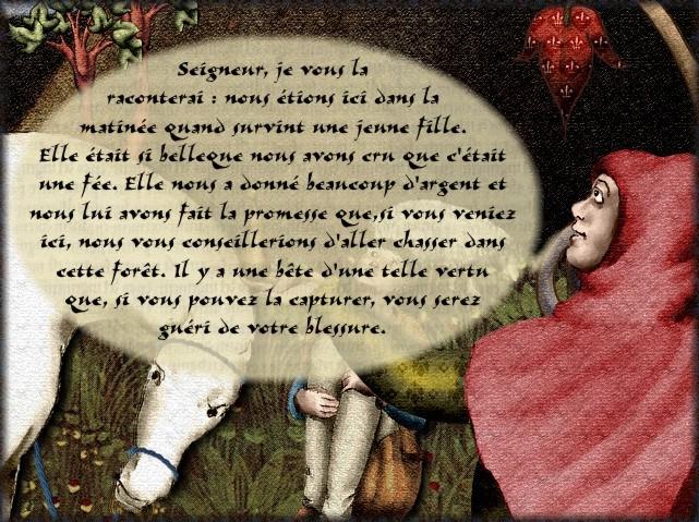 La chantefable Aucassin et Nicolette (XII ème et XIII ème siècle) (Illustré) Scene22d