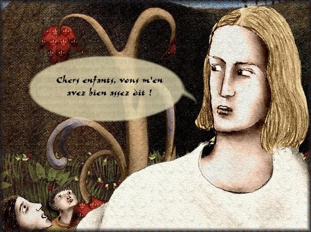 La chantefable Aucassin et Nicolette (XII ème et XIII ème siècle) (Illustré) Scene22e