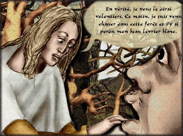 La chantefable Aucassin et Nicolette (XII ème et XIII ème siècle) (Illustré) Scene23c