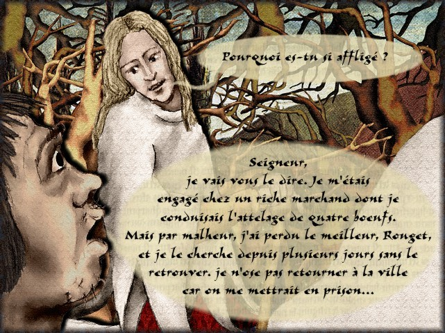 La chantefable Aucassin et Nicolette (XII ème et XIII ème siècle) (Illustré) Scene23e