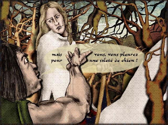 La chantefable Aucassin et Nicolette (XII ème et XIII ème siècle) (Illustré) Scene23g