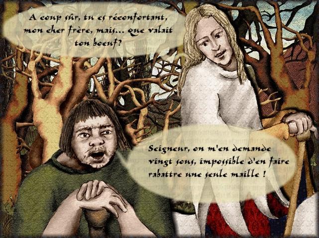 La chantefable Aucassin et Nicolette (XII ème et XIII ème siècle) (Illustré) Scene23h