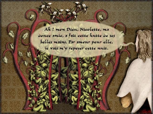 La chantefable Aucassin et Nicolette (XII ème et XIII ème siècle) (Illustré) Scene24b