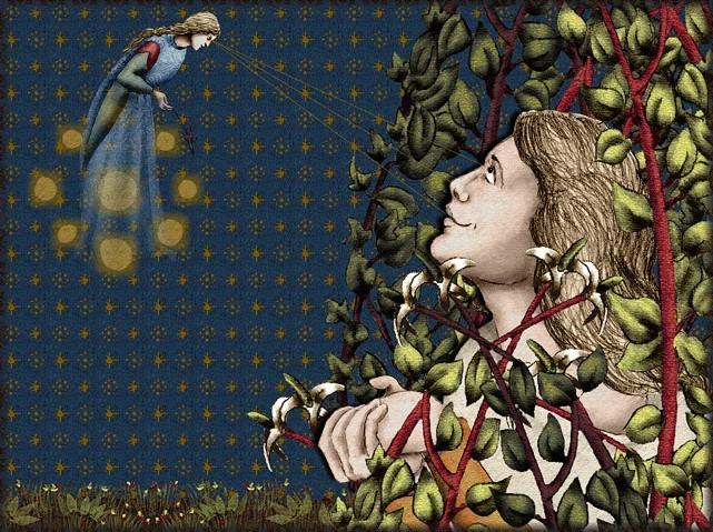 La chantefable Aucassin et Nicolette (XII ème et XIII ème siècle) (Illustré) Scene24e