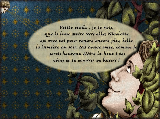 La chantefable Aucassin et Nicolette (XII ème et XIII ème siècle) (Illustré) Scene24f