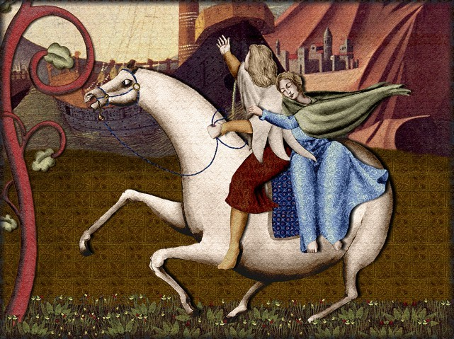 La chantefable Aucassin et Nicolette (XII ème et XIII ème siècle) (Illustré) Scene26a