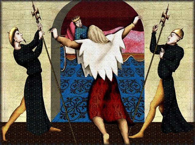 La chantefable Aucassin et Nicolette (XII ème et XIII ème siècle) (Illustré) Scene28a