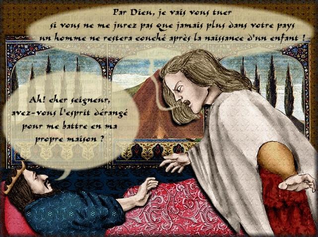 La chantefable Aucassin et Nicolette (XII ème et XIII ème siècle) (Illustré) Scene28e