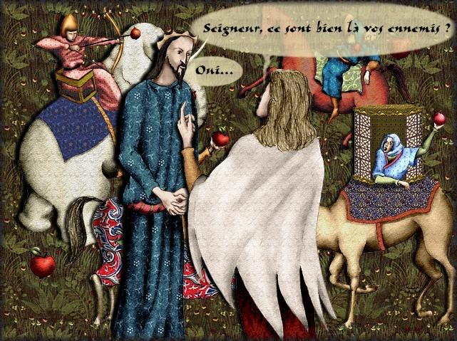 La chantefable Aucassin et Nicolette (XII ème et XIII ème siècle) (Illustré) Scene29c
