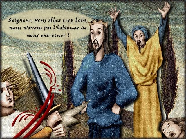 La chantefable Aucassin et Nicolette (XII ème et XIII ème siècle) (Illustré) Scene29f
