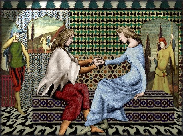 La chantefable Aucassin et Nicolette (XII ème et XIII ème siècle) (Illustré) Scene30