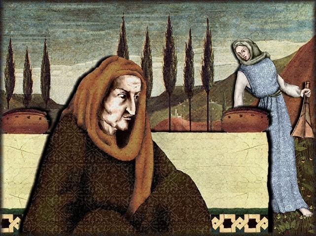 La chantefable Aucassin et Nicolette (XII ème et XIII ème siècle) (Illustré) Scene34a