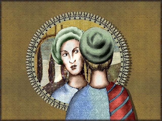 La chantefable Aucassin et Nicolette (XII ème et XIII ème siècle) (Illustré) Scene34b
