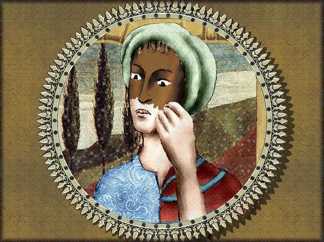 La chantefable Aucassin et Nicolette (XII ème et XIII ème siècle) (Illustré) Scene34c